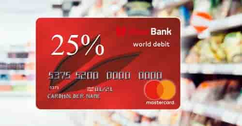 Кешбек кредитные карты от UnexBank