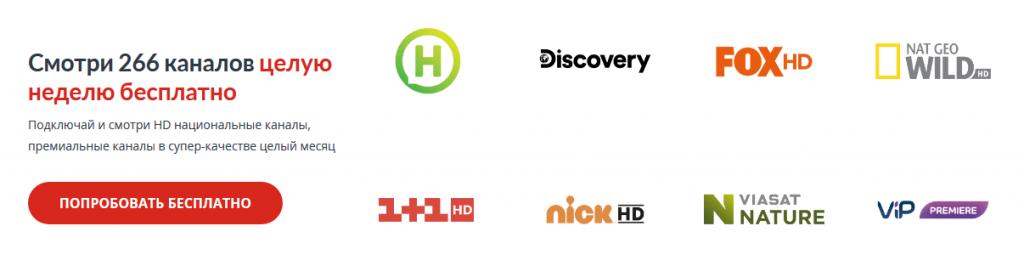 Sweet TV список каналов