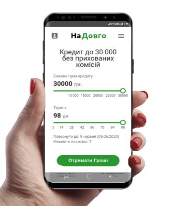 Na Dovgo (На Довго) кредит онлайн на карту